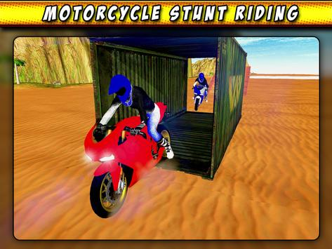 Bike Race Beach Stunt Mania 3D apk screenshot