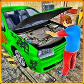 Car Mechanic Auto Workshop 3D icon