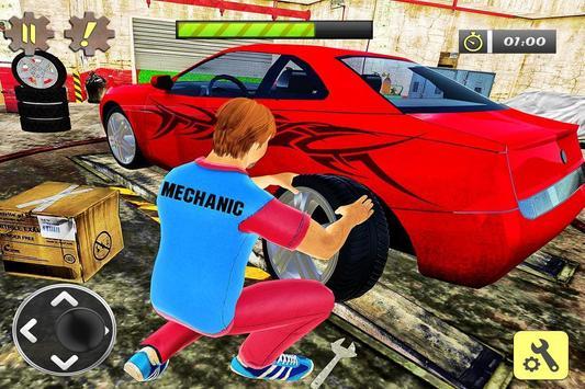 Car Mechanic Auto Workshop 3D apk screenshot