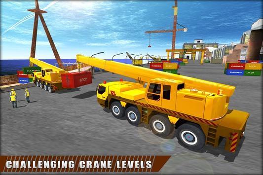 Crane Operator Cargo Transport poster