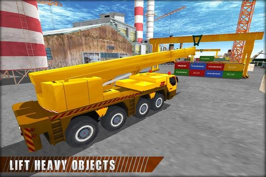 Crane Operator Cargo Transport apk screenshot