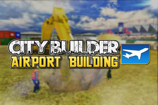 City Builder:Airport Building poster