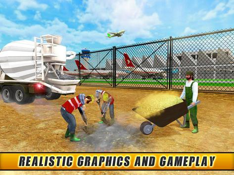 City Builder:Airport Building apk screenshot