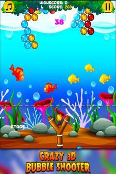 Crazy 3D Bubble Shooter poster