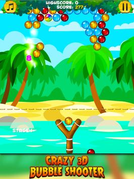 Crazy 3D Bubble Shooter apk screenshot