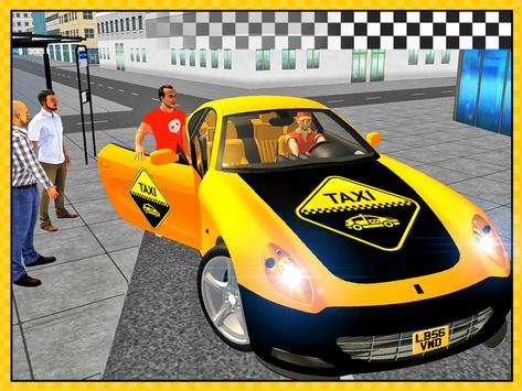 Taxi Drive 3D City Rush Duty apk screenshot