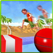 Stuntman Runner Water Park 3D icon