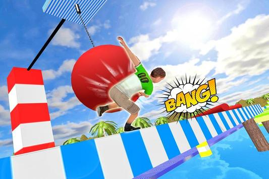 Stuntman Runner Water Park 3D apk screenshot