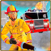 FireFighter City Rescue Hero icon