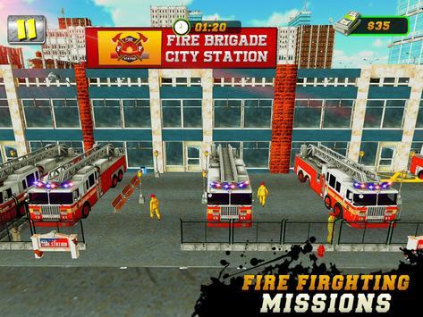 FireFighter City Rescue Hero screenshot 16