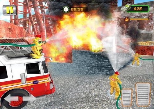 FireFighter City Rescue Hero screenshot 1