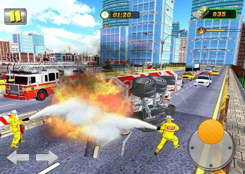 FireFighter City Rescue Hero screenshot 2
