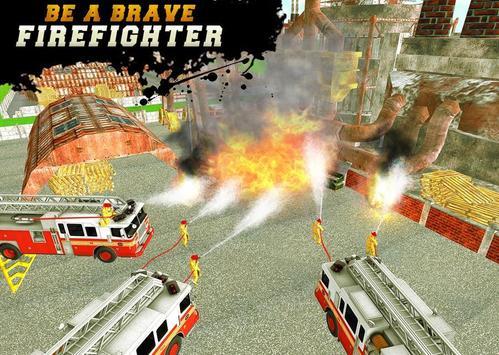 FireFighter City Rescue Hero screenshot 3