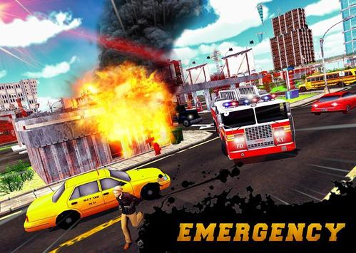 FireFighter City Rescue Hero screenshot 5