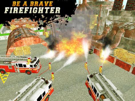 FireFighter City Rescue Hero screenshot 9