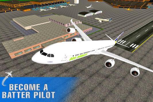 Extreme Flight Simulator Pilot poster