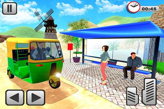 Tuk Tuk Rickshaw Offroad Drive apk screenshot