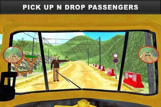 Tuk Tuk Rickshaw Offroad Drive poster