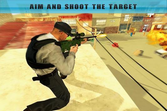 Shoot Prisoner Police Sniper poster