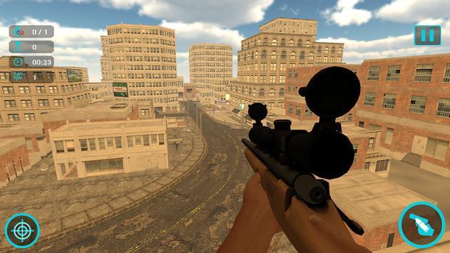 SWAT City Sniper Combat poster