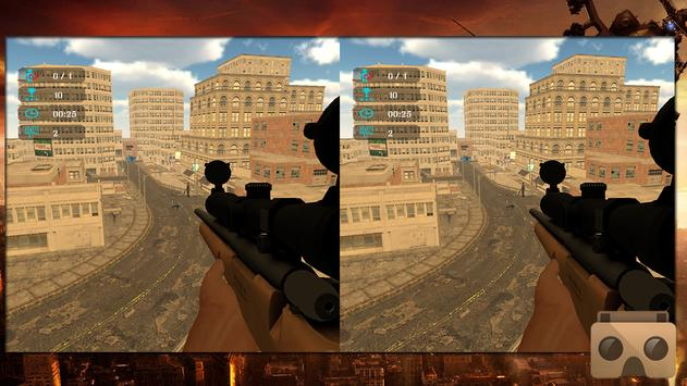 VR SWAT CITY SNIPER COMBAT 3D screenshot 1