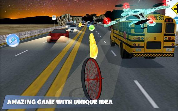 Monster Car Tyre Racing apk screenshot