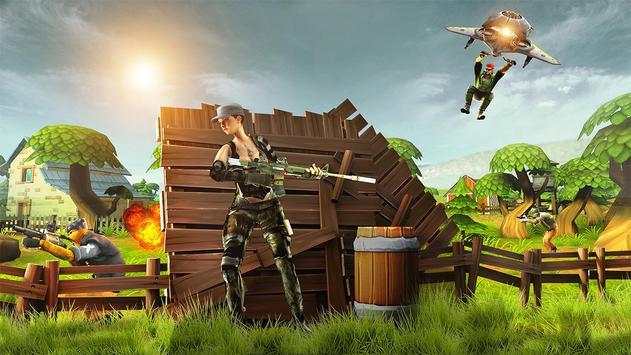 Forte Noite Batalha Chão Sobrevivência Arena Royal imagem de tela 14