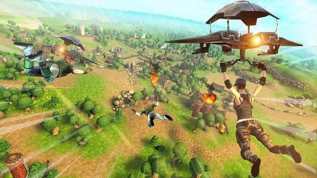 Forte Noite Batalha Chão Sobrevivência Arena Royal imagem de tela 10