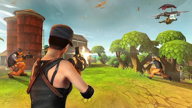Forte Noite Batalha Chão Sobrevivência Arena Royal imagem de tela 3