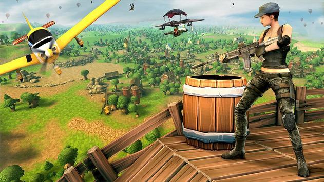 Forte Noite Batalha Chão Sobrevivência Arena Royal imagem de tela 7