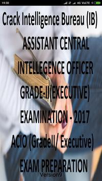Crack Intelligence Bureau (IB) ACIO  Exam 2017 screenshot 1