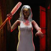 害怕 奶奶 恐怖 屋 鄰居 生存 遊戲 圖標
