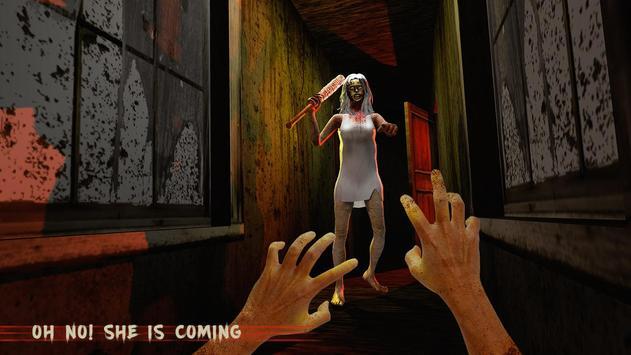 害怕 奶奶 恐怖 屋 鄰居 生存 遊戲 截圖 1