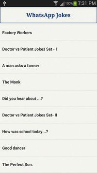 WhatsApp Jokes screenshot 1