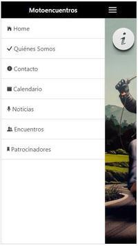 Motoencuentros screenshot 1