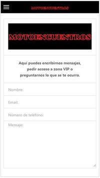 Motoencuentros screenshot 3