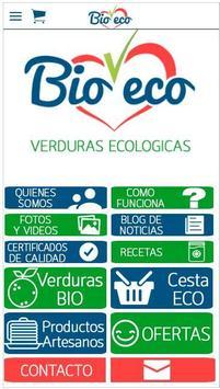 Bioveco Verduras Ecologicas poster
