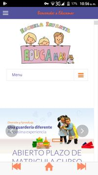 Escuela Infantil Educamar poster