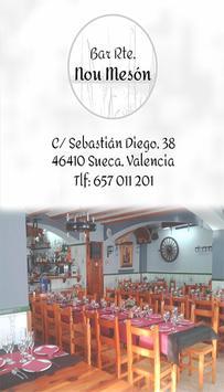 Restaurante Nou Meson poster