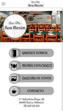 Restaurante Nou Meson screenshot 1