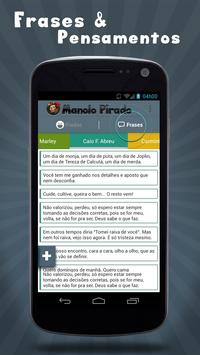 Manolo Pirado Piadas e Frases apk screenshot