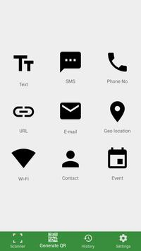 Barcode Scanner & Barcode Generator screenshot 1