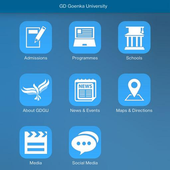 GD Goenka University icon