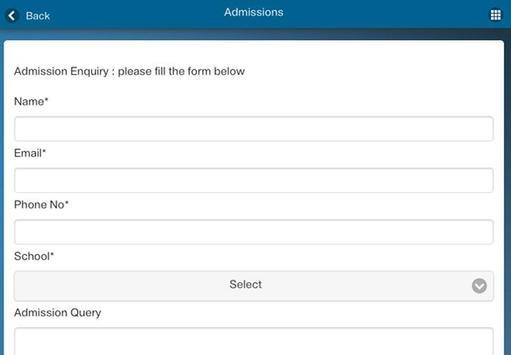 GD Goenka University apk screenshot