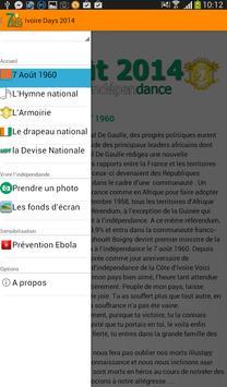 Ivoire Day 2014 apk screenshot