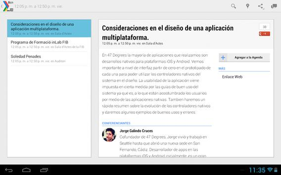 GDG DevFest BCN screenshot 5