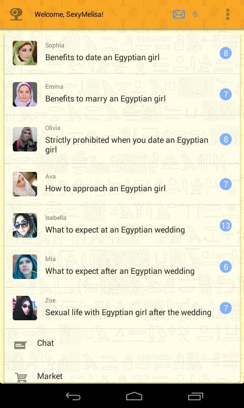 Marry egyptian girl
