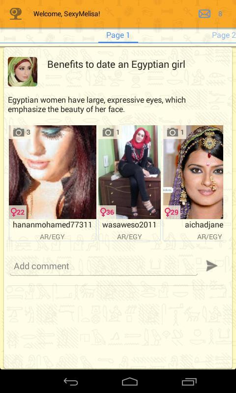 Dating egyptian popular lesbian dating websites