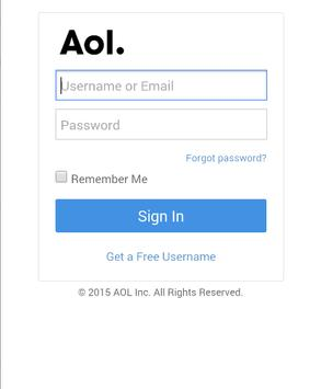 Mail for AOL poster