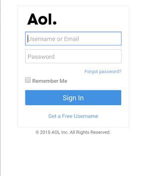 Mail for AOL screenshot 1